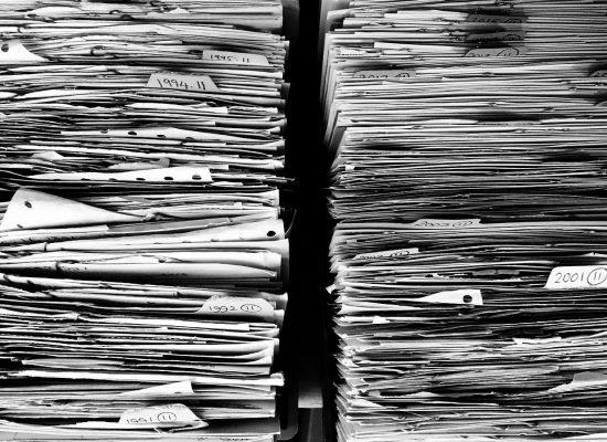 paperwork, tasks, piles of paper