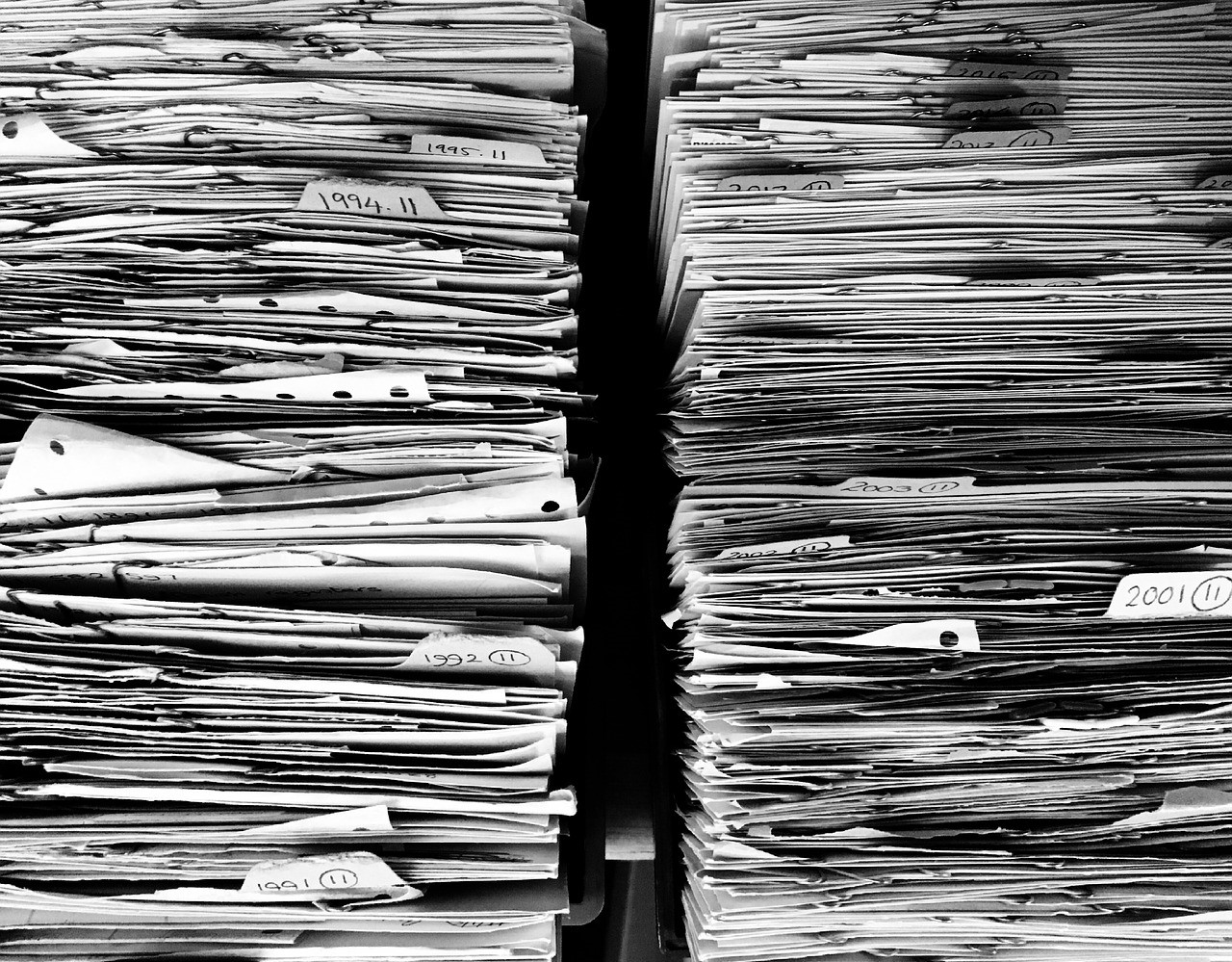 paperwork, tasks, piles of paper