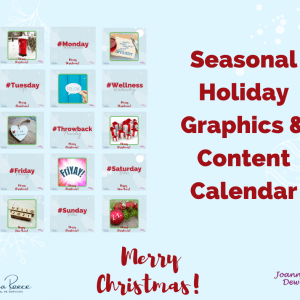 Seasonal Holiday Pack 03 (fully customisable to your own business)